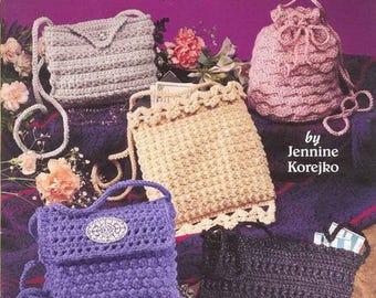 Purses on the go Crochet purses Crochet accessories Crochet bag Pdf file