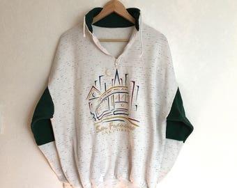 Vintage San Fran Pullover Sweatshirt • Size M
