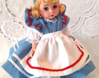 "Madame Alexander 8"" Alice in Wonderland Doll ""Alice"" #140492 Special Edition LE 3000 Restrung, Box, Wrist Tag & Paperwork"