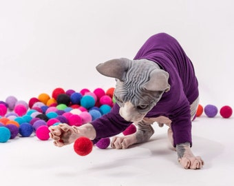 Ready to Ship - Cat Toys Pom Poms Catnip Balls Amaze Balls™ . The Original Small  Felted Wool Balls, Infused with Catnip