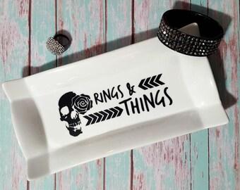 Rings & Things Ceramic Dish