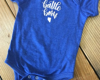 Battle Born Nevada Onesie