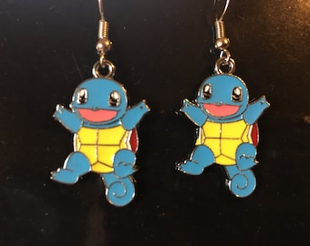 Pokemon Squirtle Earrings  L45