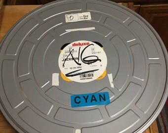 Movie Film JACKSON 2009 Film Reel # 3 With Canister