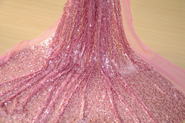 Artikel: XL003 rosa Spitzen breit für Hochzeit Kleid Kostüm