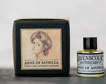 Anne Of Avonlea Oil Fragrance - Ylang Ylang, Lavender and Sweet Mandarin. Natural Botanical Perfume For Women. 10 ml.