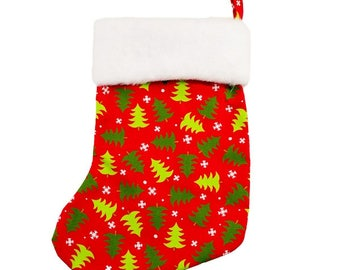 Christmas Tree Stocking (with or without personalization)