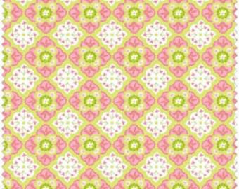 Blend Fabrics, Animal Parade by Ana Davis 11310205-1 (Pink) 1 yard