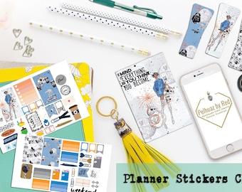 Classic Planner Stickers Club, Planner Sticker Subscription, Monthly Subscription, Subscription Box, Sticker, Happy Planner, Star Wars