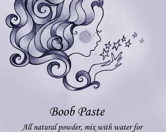 All Natural Boob Paste