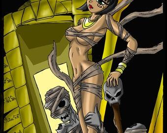 Curse of the Mummy 11X17 Print