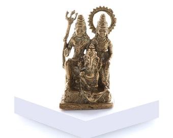 Miniature Shiva Family