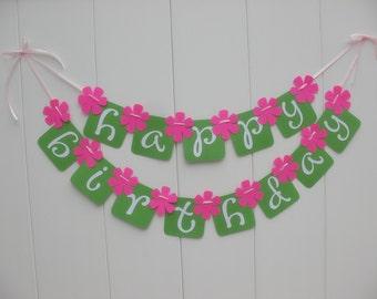 Pingreealoo Happy Birthday Banner