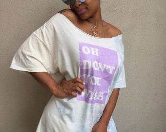 SALE! Oh Don't You Wish (You Were A Spelmanite Like Me!) Oversize Tee