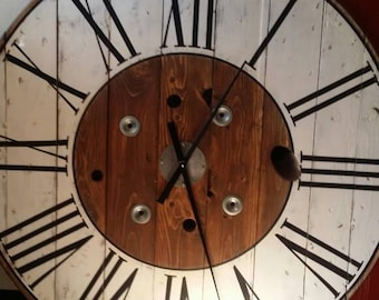 Large clock Etsy