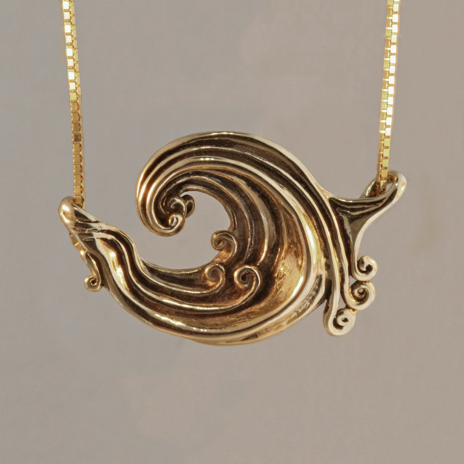 salty products the product wave ocean pendant image necklace