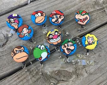 Nintendo Badge Reel, Id badge Reel