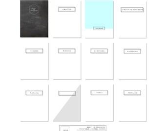 Revista digital tarjetas – bebé en juego de tarjetas de progreso