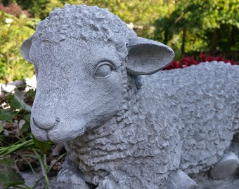 Lamb or Sheep Statue (Shipping for West of the Mississippi River)