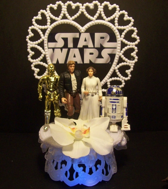 r2d2 wedding cake topper wars princess leia han r2d2 c 3po wedding cake 18951