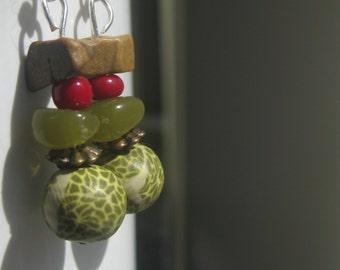 Natural Drop Earrings