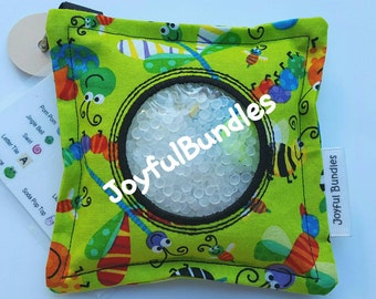 I Spy Bag, Green Bugs, Car Game, Educational Game, Busy Bag, Travel Toy, I Spy Game, Party Favors, Eye Spy Game