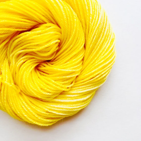 BUTTER hand dyed yarn