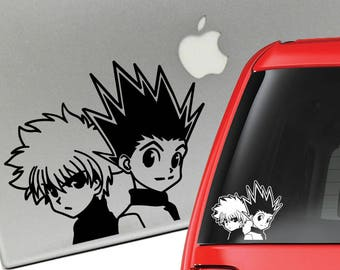 Hunter x Hunter Gon and Killua Vinyl Decal for Laptop or Car