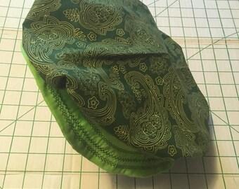 Green Renaissance Flat Hat