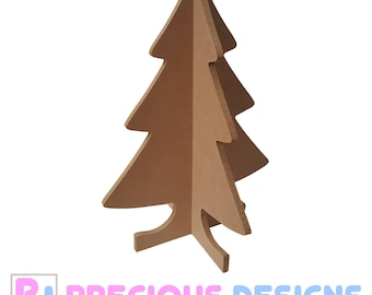 Christmas tree free standing for arts and crafts table decorations xmas