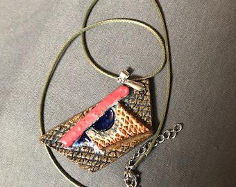 Ceramic Glass Pendant
