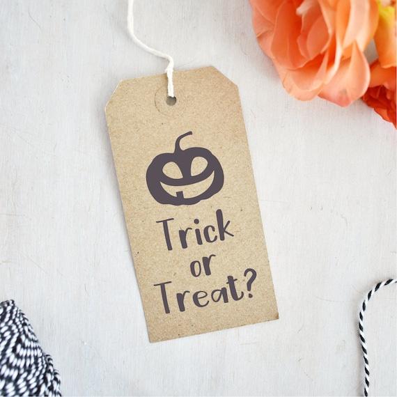 Süßes oder Saures Stempel Halloween Kürbis Stempel Jack O