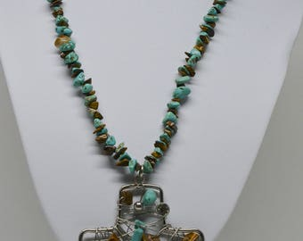Charming south  western style necklace