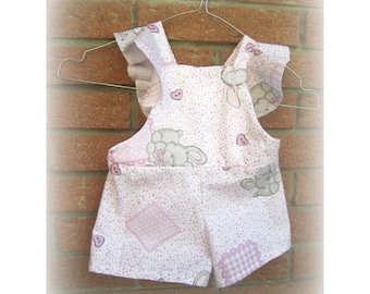 Cotton dress with ruffle size 6 months