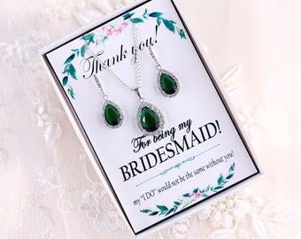 Emerald Green Earrings Bridal green jewelry set Emerald Earrings Emerald Green Crystal Earrings Drop Green Earrings Emerald Drop Earrings