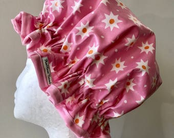 Shower Cap. Eco-Friendly. PVC BPA Free. Girl And Adult Sizes. Laminated Cotton. Bath Gift. Gift For Her.