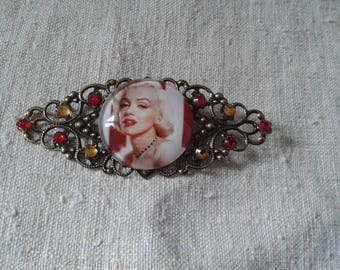 "lovely brooch cabochon ""Marylin Monroe"""
