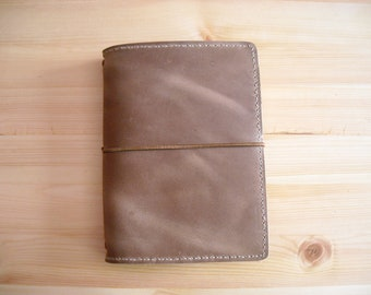 B6 Traveler's Notebook Old Brown Leather