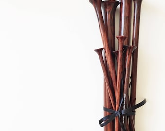 The Rosewoods // wooden knitting needles various sizes