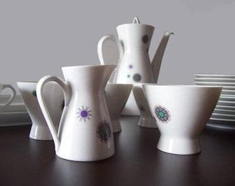 Rosenthal Form 2000-Design Ute Schroeder Raym teasset-Porcelain-21-set