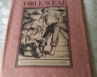Vintage Folkwear Pattern Missouri River Boatman's Shirt Men and Women's