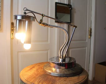 """Lamp """"Steam trio"""" By Recyclhome."""