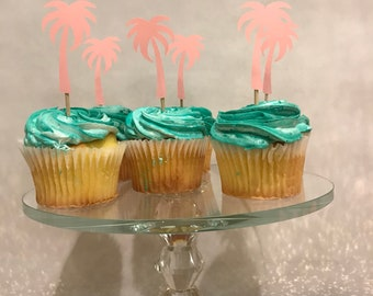 Palm Tree Chpcake Toppers