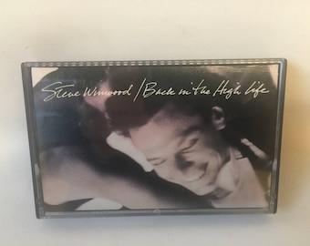 Steve Winwood Back in the High Life Cassette Tape