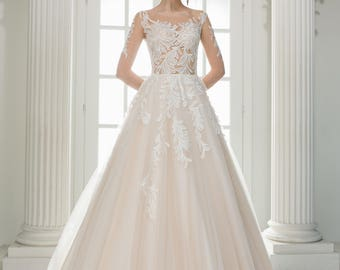Wedding dress wedding dress bridal gown SACURA