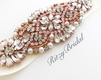 wedding belt, wedding sash, wedding dress sash, crystal pearl sash, rhinestone sash belt, flower girl sash, bridesmaid sash, bridesmaid belt