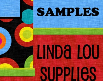 SAMPLES Large Cotton Muslin Bags - Set of 5 - Premium - Single or Double Drawstring - Product Packaging - Weddings - Gifts - Crafts