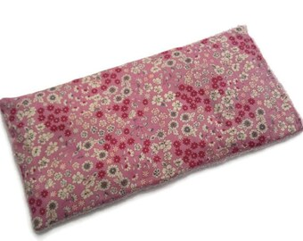 Removable heating pad, Liberty rustle, heating pad flax seed heating pad neck back, heating child, gift
