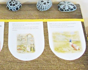 SALE Beatrix Potter Party Bunting - Nursery Baby Shower - The Tale of Jemima Puddle-Duck