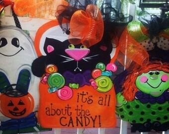 Halloween door hangers
